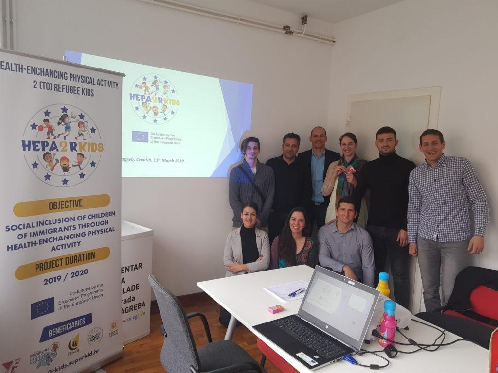 HEPA2RKids kick-off meeting Zagreb
